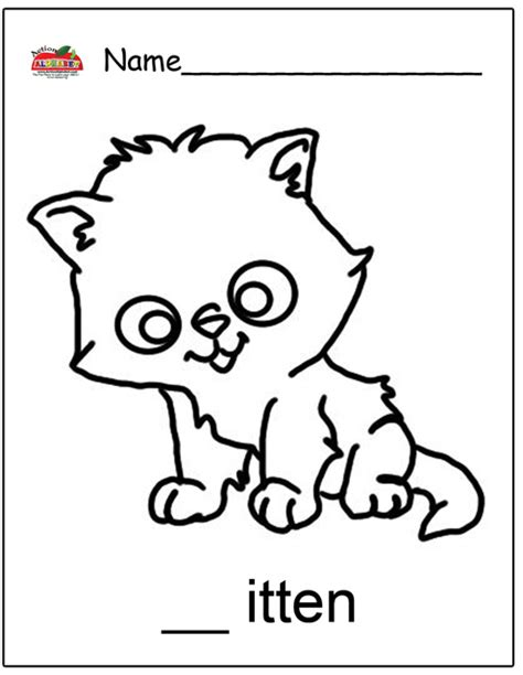 preschool coloring pages cats letter k activities preschool lesson plans