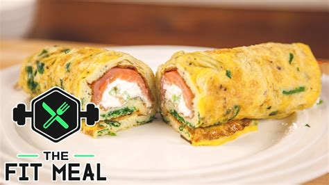 cottage cheese omelette smoked salmon and cottage cheese omelette high protein