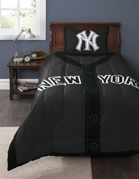 New York Yankees Bed Set Mlb New York Yankees Baseball 4pc Crib Bedding Set Obedding