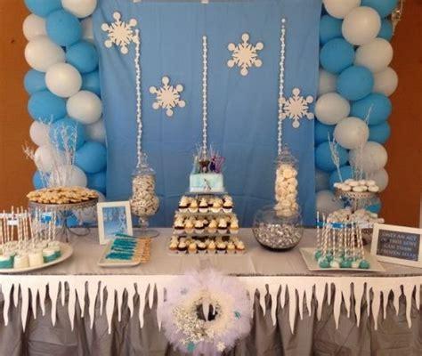 frozen themed decor festa frozen disney dicas e ideias lindas e simples