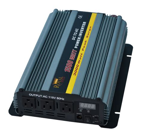 Power Inverter Sunpro 1500w Pi 15 1500 Watt 1 1500 watt power inverters 12 volt dc to 110 volt ac