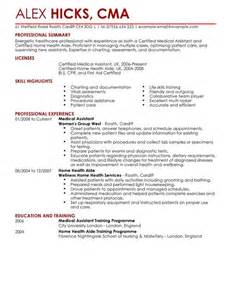 Home Health Aide Jobs by Healthcare Cv Examples Cv Templates Livecareer