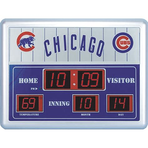 Bar Stool Cart by Chicago Cubs Scoreboard Clock Free Shipping Today