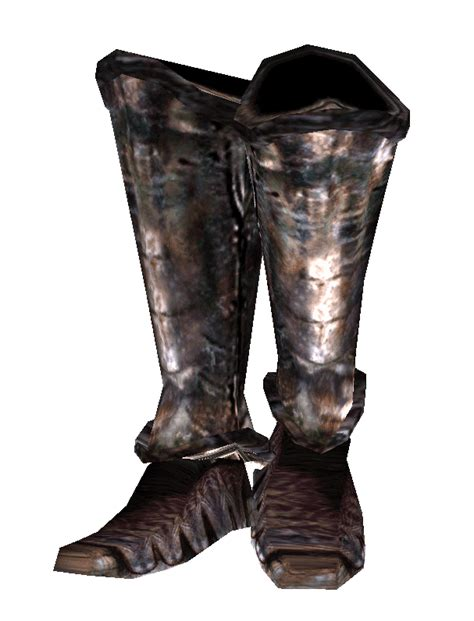 iron boots iron boots morrowind the elder scrolls wiki