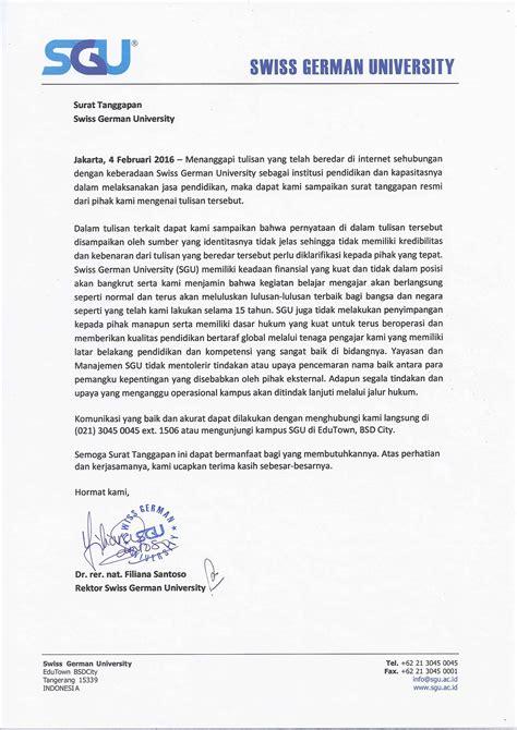 surat tanggapan kompasiana swiss german