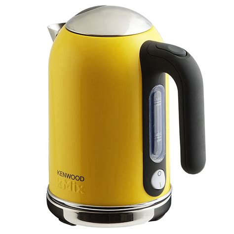 yellow kitchen appliances new yellow kenwood kmix boutique kettle stylish modern