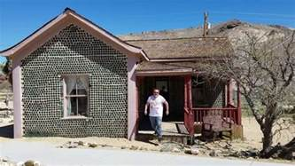 nevada house ghost town bottle house rhyolite nevada