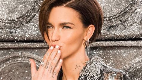 ruby rose is getting her most iconic tattoo removed and