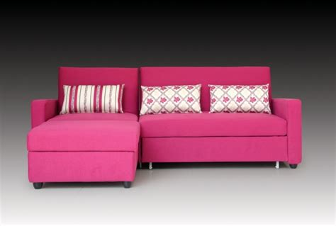 bright coloured sofas pink sleeper sofa ideas