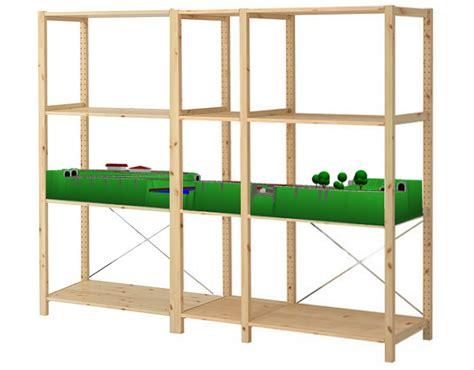 Ikea N ikea ivar regal modellbahnanlage in spur n