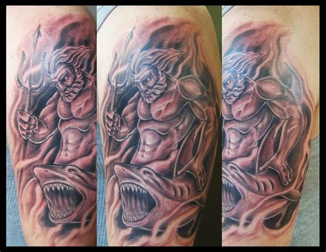 neptune tattoo king neptune traditional www pixshark