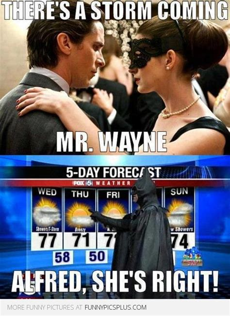 Funny Batman Meme - batman and catwoman there s a storm coming funny pictures