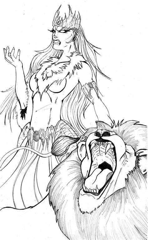 lion witch wardrobe by tactusv on deviantart
