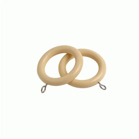 cream curtain rings county cream 28mm curtain rings