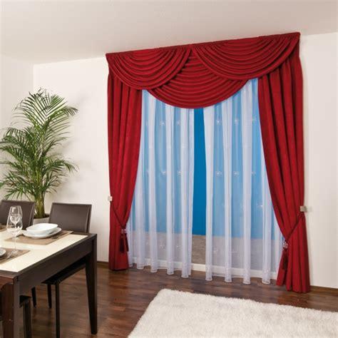 gardinen rot gardinen dekorationsvorschl 228 ge dekoideen f 252 r fenster und