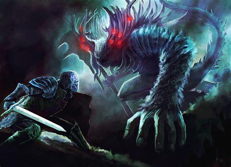 wallpaper abyss dark souls dark souls artwork full hd wallpaper and background