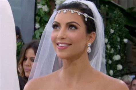 kim k wedding hair wedding hair styles kim kardashian s wedding hair hair