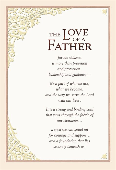 christian fathers day poem christian fathers day poems