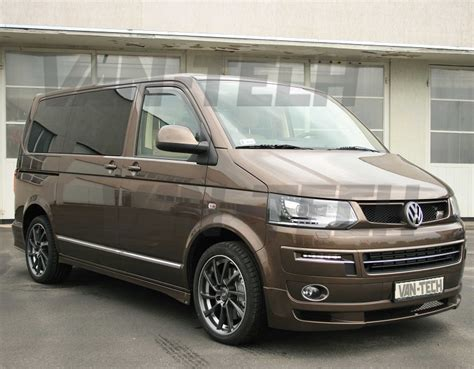 volkswagen van front vw transporter t5 lower front end conversion styling pack