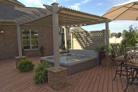 pergola tub 23 best tub images on tub privacy backyard ideas and backyard privacy