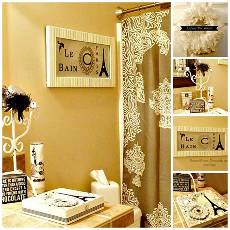 paris inspired bathroom room makeover using what you have live creatively inspired