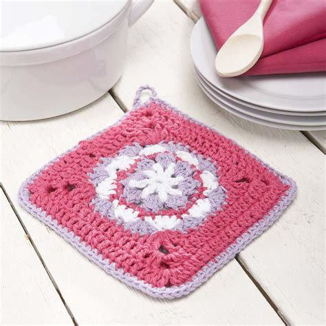 pot holder pattern easy flower pot holder free crochet pattern crochet kingdom