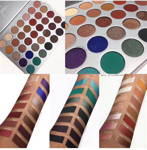 Morphe The Hill Palette morphe x the new hill eyeshadow palette swatches