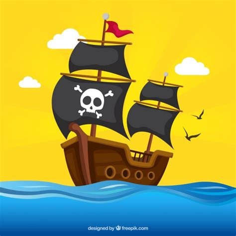 Blue Green Colors by Pirate Ship Vectors Photos And Psd Files Free Download