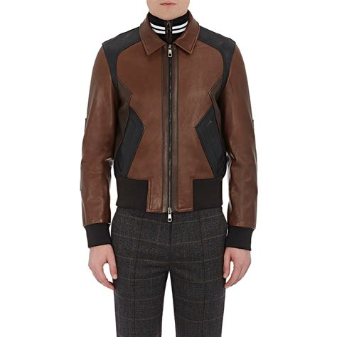 Patchwork Leather Coat - neil barrett patchwork leather jacket in black for