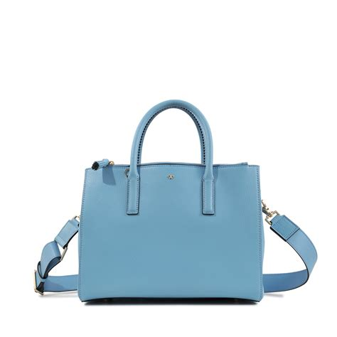 Anya Hindmarch Need Bags by Anya Hindmarch Ebury Soft Small Smiley Bag In Blue Lyst
