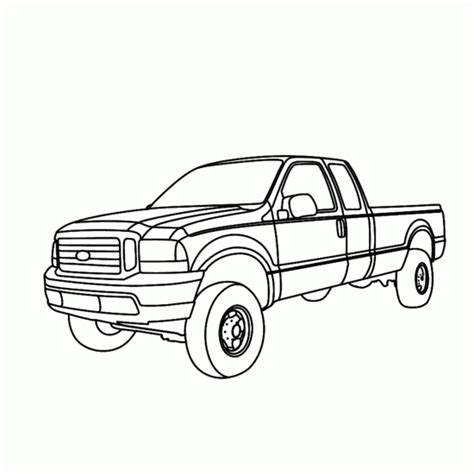 ford trucks coloring page ford f250 coloring pages murderthestout