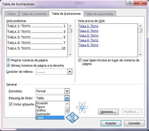 como poner imagenes que se mueven en word c 243 mo crear 237 ndice de tablas en word teknolosys