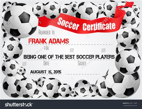 soccer certificate template free 35 free printable soccer certificate templates 13 free