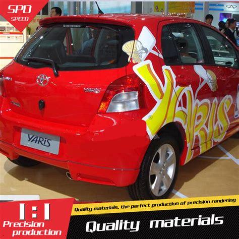 Spoiler All New Toyota Yaris Trd Spoiler All New Yaris Murah for toyota yaris spoiler abs material car rear wing primer color rear spoiler for toyota yaris