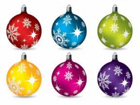 Colorful christmas ball ornaments vector free vector graphics all