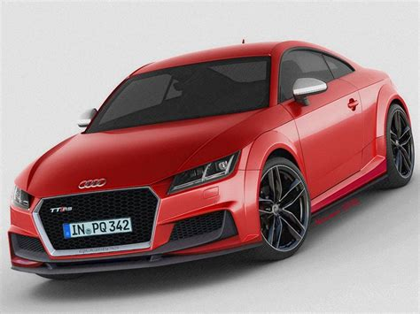 new audi tt rs 2014 2015 audi tt rs rendered with more rigour