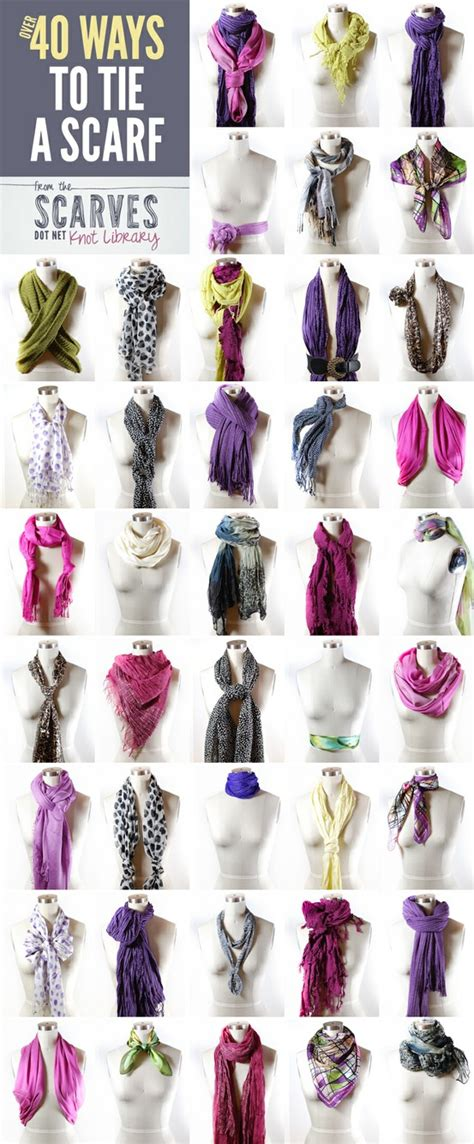 40 ways to wear a scarf do it and how