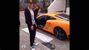 new car of cristiano ronaldo cristiano ronaldo new car mclaren mp4 12 spyder