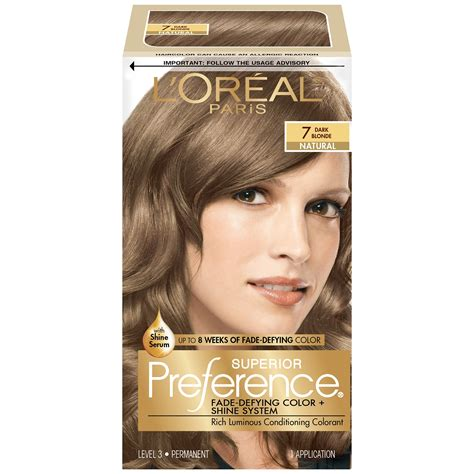 loreal preference hair color l oreal superior preference glam lights