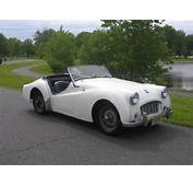1957 Triumph TR3 TS12904L  Registry The
