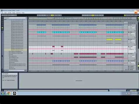 how to make deep tech house with ableton live 7 tutorial ableton live 8 deep house tech house production youtube