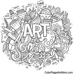 doodle coloring pages free hearts doodle coloring pages