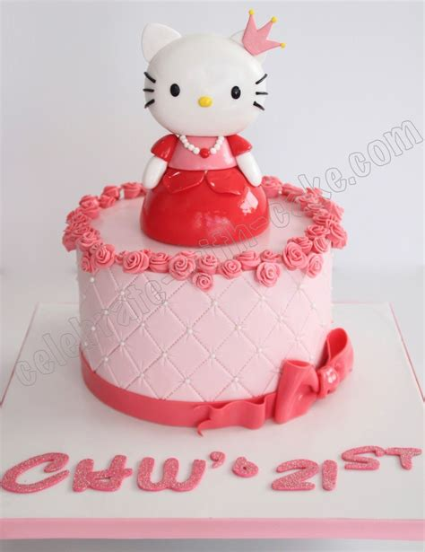 Celebrates Birthday As A Princess by Celebrate With Cake 21st Birthday Princess Hello