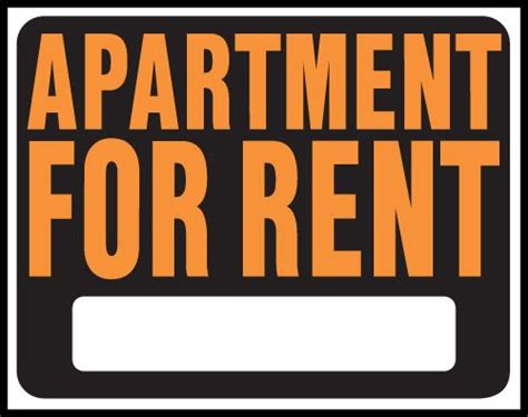 apartment for rent signs clipart signs pinterest