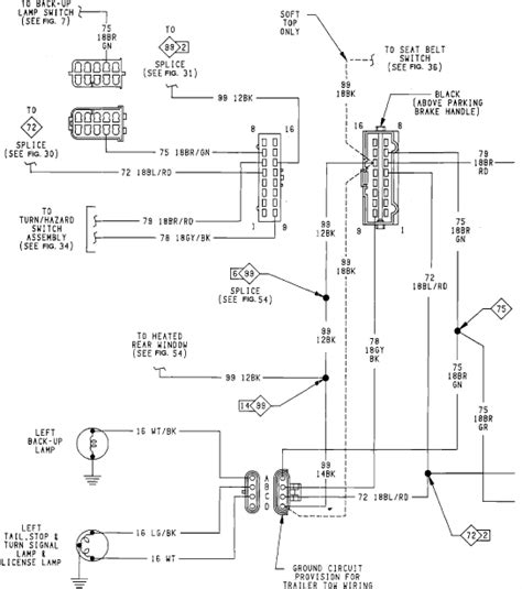 93 yj light wiring diagram free wiring 1987 jeep wrangler 4 2l engine diagram 1987 free engine