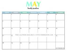 printable calendar template pdf may calendar template 2017 calendar templates