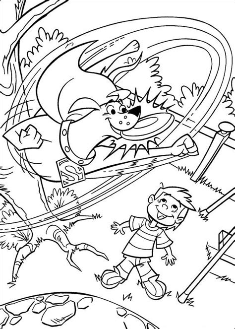 superdog coloring page kids n fun com coloring page krypto the superdog krypto