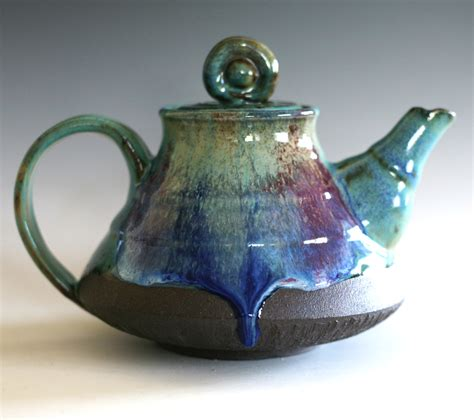 Handmade Ceramic Teapots - handmade ceramic teapot handmade stoneware teapot by ocpottery