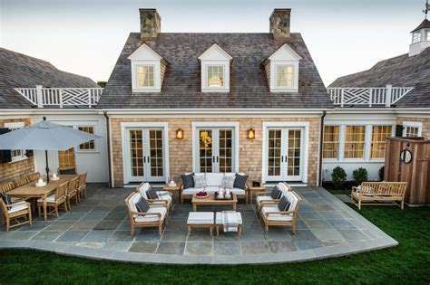 House Patio Design House With Cape Cod Architecture And Bright Coastal Interiors Idesignarch Interior