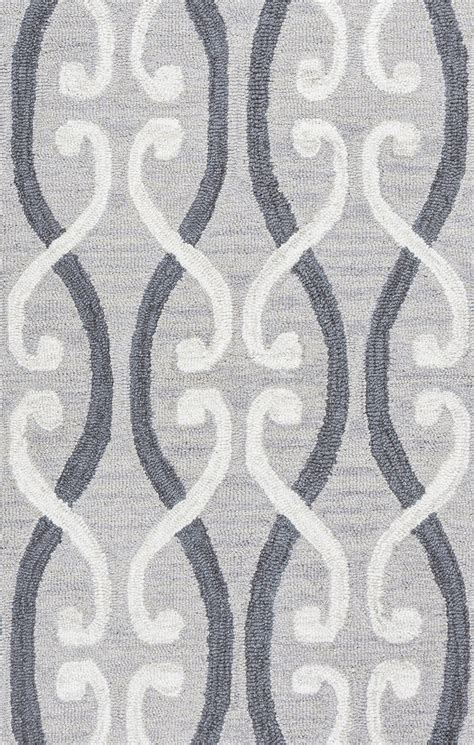 5 x 8 area rugs loureli slender trellis wool area rug in grey ivory 5 x 8
